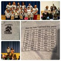 Congratulations to our first TK/K students for earning their Literacy Shirts