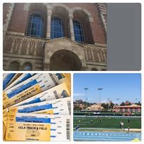 Great Day!! Tour of UCLA, College Fair and Track Meet