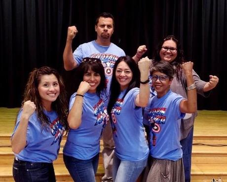 We are looking forward to a wonderful year!! Hughes Support Staff... Mrs.  Rodriguez, Mrs. Valjalo, Ms. Terrenal, Ms. Rivera, Mr. Herrera, and Ms. Cortez